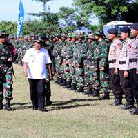 Bupati Buka TMMD Ke-101 di Desa Ai Kangkung